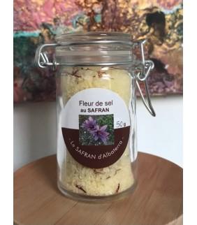 Fleur de sel au Safran 50g