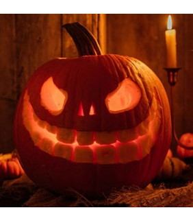 Courge d'Halloween