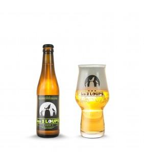 Bière Green Les 3 Loups