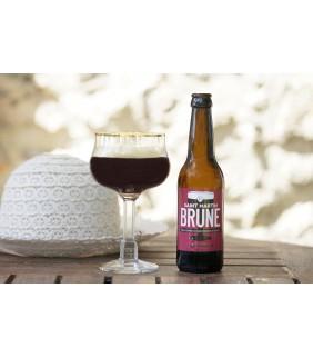 Bière brune Brasserie Saint Martin 33cl