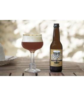 Bière triple Brasserie Saint Martin