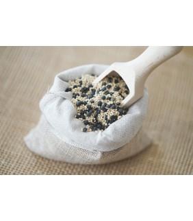 Quinoa et lentille beluga en mélange 250g