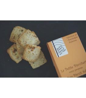 Biscuits au fromage de chèvre et aux noix